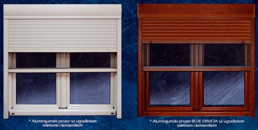 Prozori sa roletnama i komarnicima